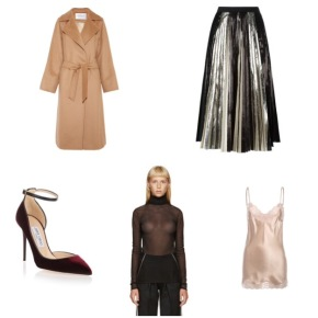 holiday closet wishlist