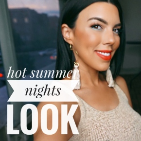 hot summer nights look